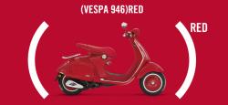 Nouveauté Vespa 946 (Red) :  Ventes reversées à la lutte contre le Sida